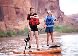 Moab Paddle Boarding