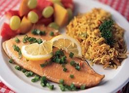 Cataract Canyon Food Plate