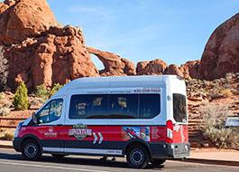 Moab Arches National Park Van 51