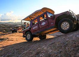 Moab Hummer Tours Side Climb Isabel
