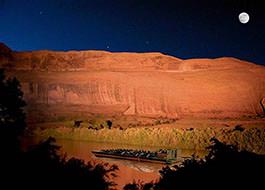 Moab Jet Boat Tours by Night