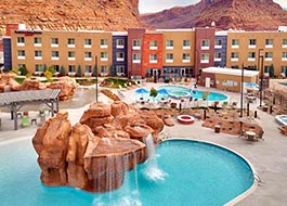 Moab Marriott Pool