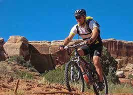 Moab Mountain Biking Courthouse Wash