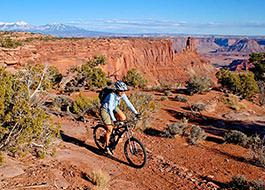 Dead Horse Point Singletrack mountain biking