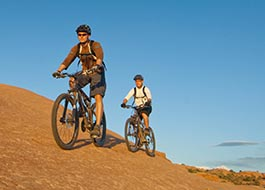 Moab Mountain Biking Klondike Pair