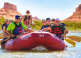 Moab Colorado River Rafting Full Day