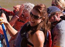 Moab River Rafting Fun Smile Woman
