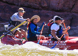 Colorado River Mid-Day Rafting Tour