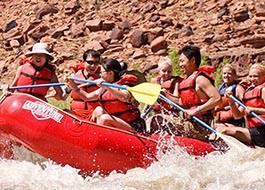 Moab River Rafting Rapid Group