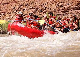 Moab River Rafting Rapids Group