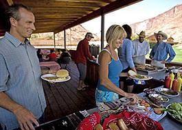 Moab River Rafting Rcl Lunch Buffet 02