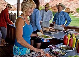 Moab River Rafting Rcl Lunch Buffet