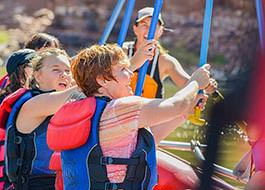 Moab River Rafting Team