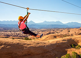Moab Zip Line Mixed Pink