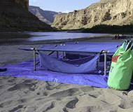 Desolation Canyon Utah Rafting Ground Cloth