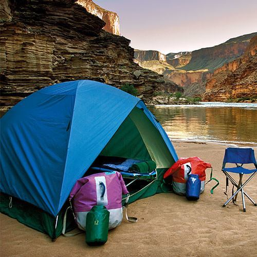 Camping in Desolation Canyon