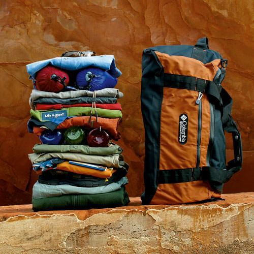 Packing for Fisher Towers Colorado River