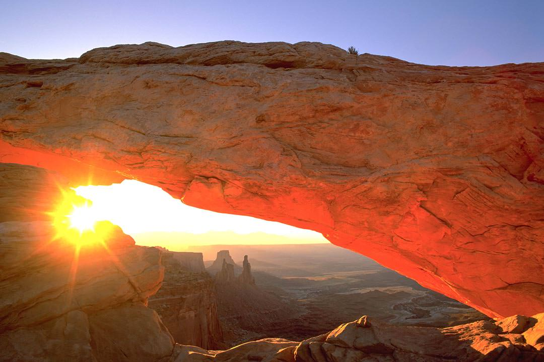 Canyonlands National Park Mesa Arch Orange