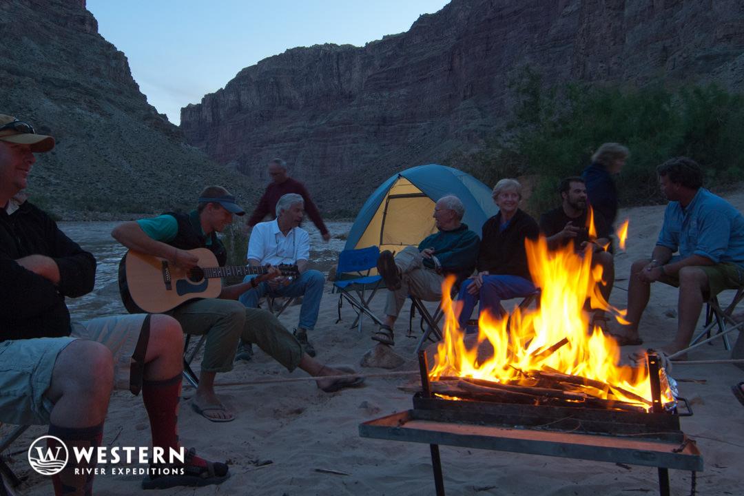 Cataract Canyon Campfire