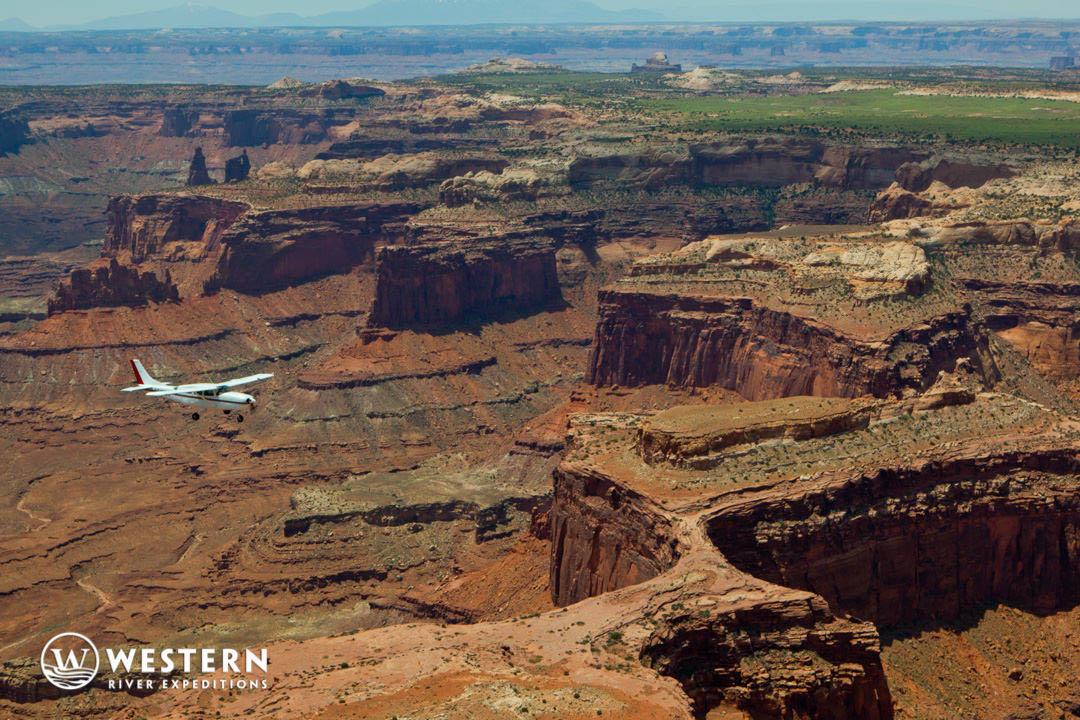 Cataract Canyon Canyonlands Flight