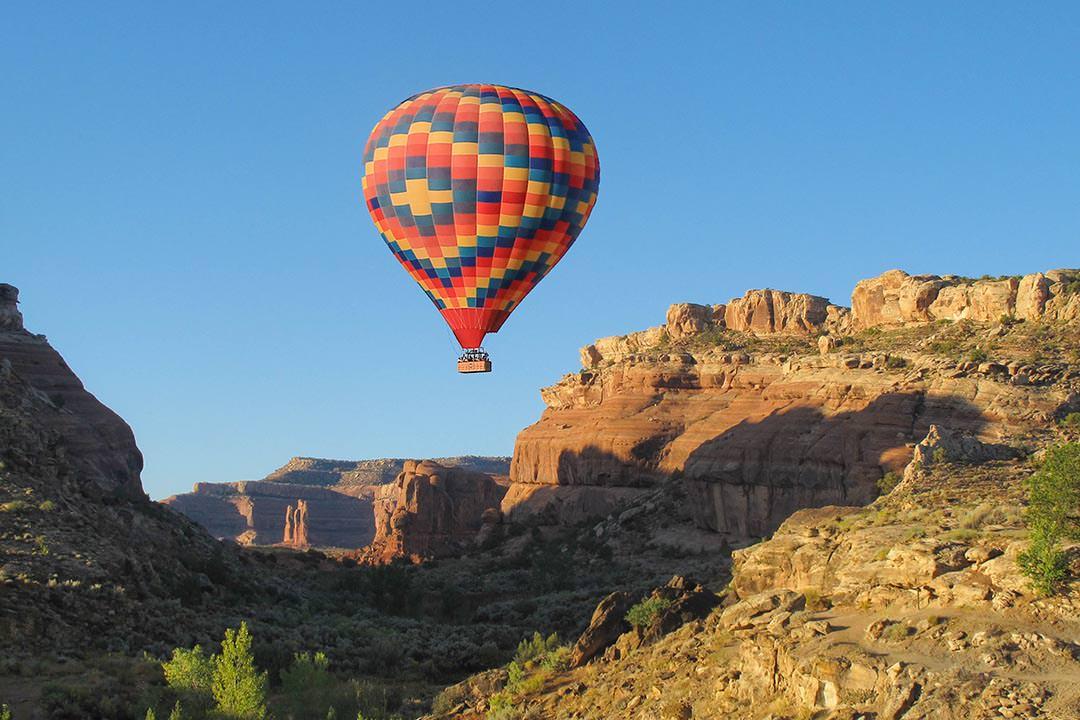 Moab Hot Air Balloon Rides Mill Canyon Edit