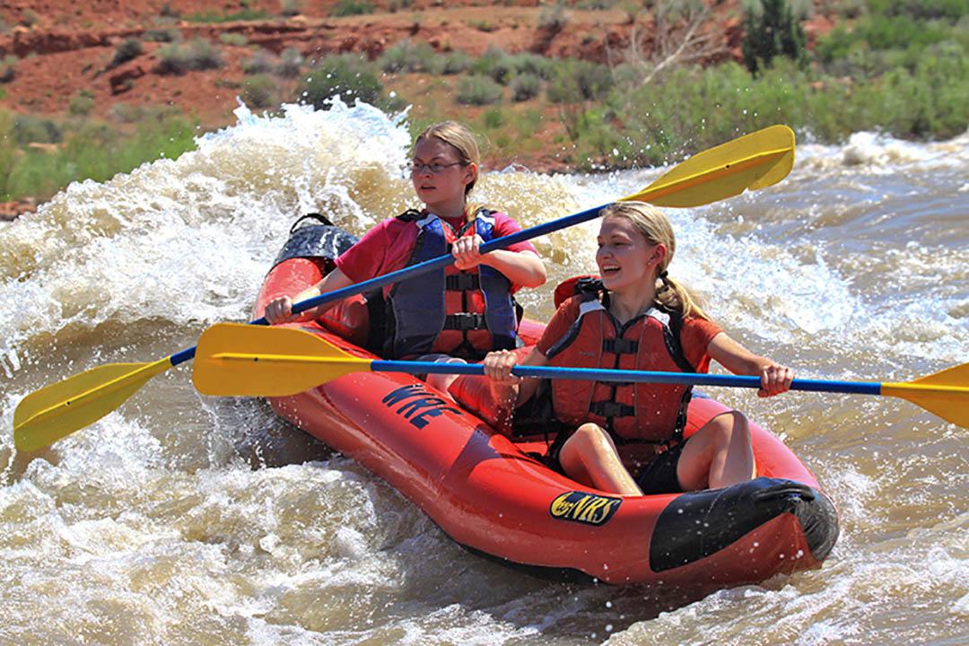 Moab River Rafting Kayak Teen Girls
