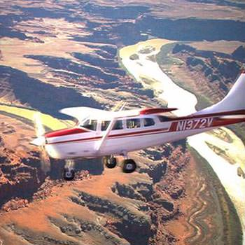 Moab Air Tours Plane