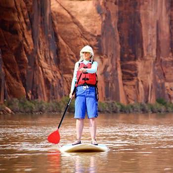 Moab Paddle Boarding Lynette