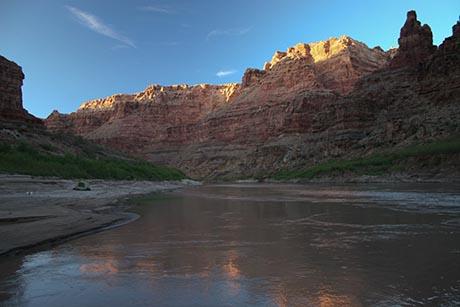 Cataract Canyon Camp Sunrise