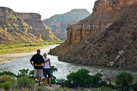 Desolation Canyon Utah Rafting Nefertiti Couple 2