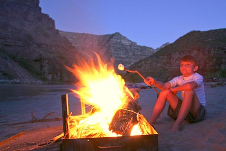 Desolation Canyon Utah Rafting Smores 2