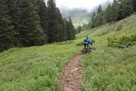 Manti La Sal Mountain Biking