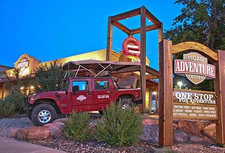 Moab Adventure Center building