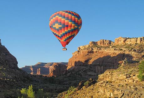 moab hot air balloon ride