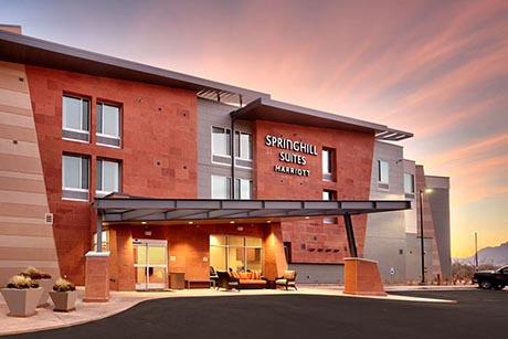 Moab Marriott Entrance