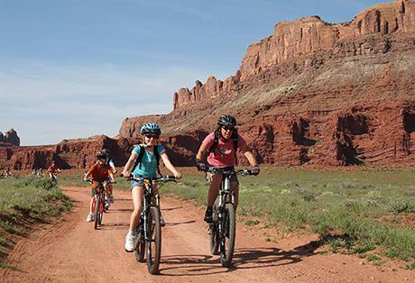 Moab Mountain Biking Courthouse
