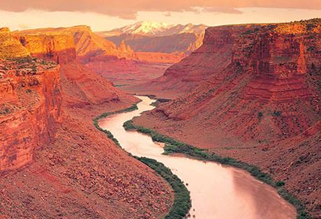 fisher towers section of colorado river