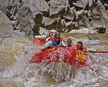Westwater Canyon Rafting Al Gore