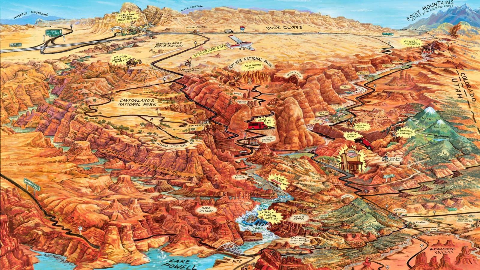 Moab Utah & Moab Vacations, Moab Hotels, Weather, Tours
